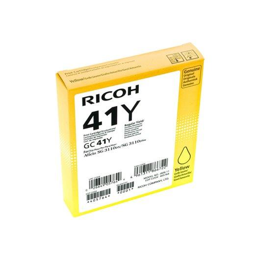 Ricoh GC 41YL - Low Yield - jaune Cartouche d'encre Ricoh