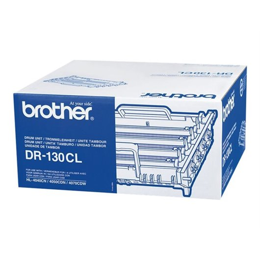 Brother DR-130CL - Noir, Cyan, Magenta, Jaune - Kit Tambour Brother