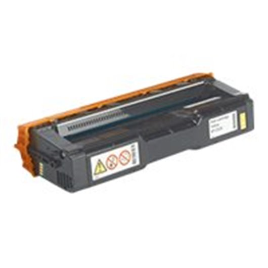Ricoh SP C252 HY / 407534 - Jaune - Toner Compatible Ricoh