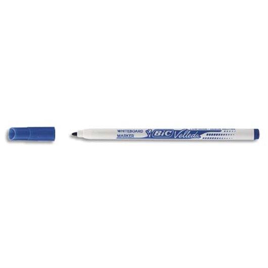 Feutre effaçable à sec pour tableaux blancs pointe fine encre alcool bleu