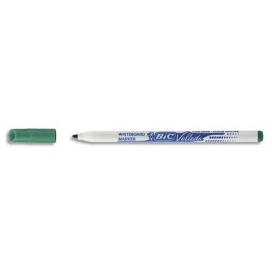 Feutre effaçable à sec pour tableaux blancs pointe fine encre alcool vert