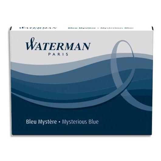 Etui de 6 mini cartouches encre bleu sérénité
