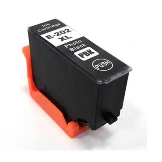 Epson 202XL - Epson Kiwi - Noir Photo - Cartouche Compatible d'encre Epson