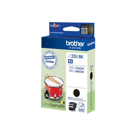 Brother LC-22XLBK - Noir - Cartouche XL Brother