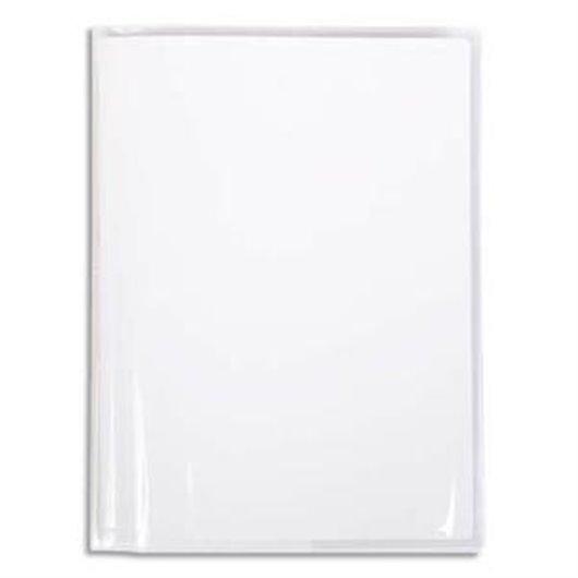 Protège-cahier Cristal 22/100° 21X29.7 avec porte-étiquette. Transparent