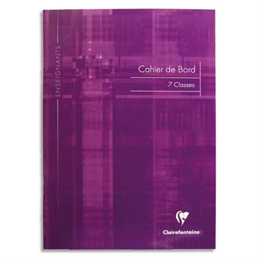 CLAIREFONTAINE Carnet de notes des professeurs reliure piqûre 21x29,7 cm 48 pages