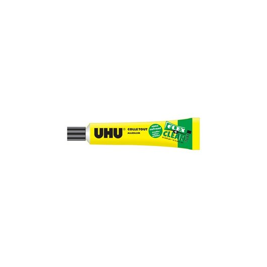 UHU Tube de colle Flex&Clean sans solvant de 20 ml
