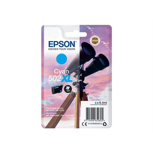 Epson T0502 - Jumelles - Cyan - Cartouche d'encre Epson