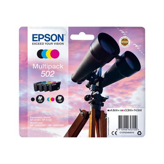Epson T0502 - Jumelles - MultiPack de 4 Cartouches d'encre Epson