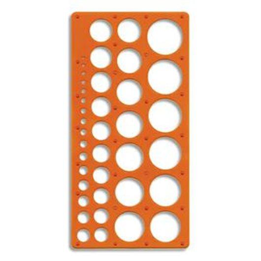 Trace-cercles pairs et impairs de 1 à 35mm