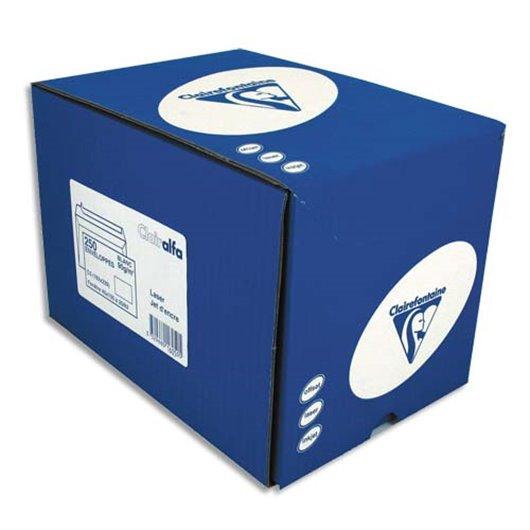 Boîte de 250 enveloppes auto-adhésives 90g DL 110x220mm