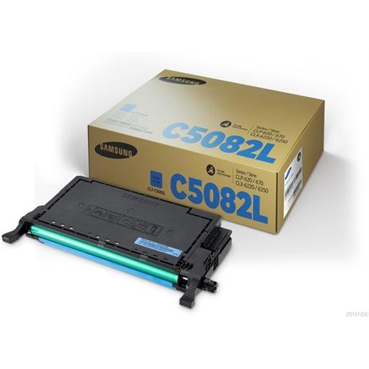 Samsung CLT-C5082L - Cyan - Toner XL Samsung