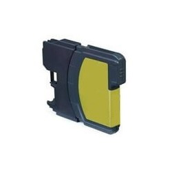 Brother LC-980Y - Jaune - Cartouche Compatible Brother