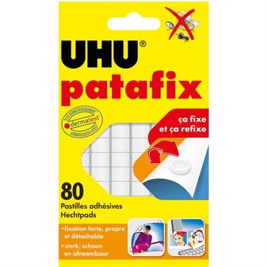 UHU E/6 BDE PATAFIX BLANCHE 042620