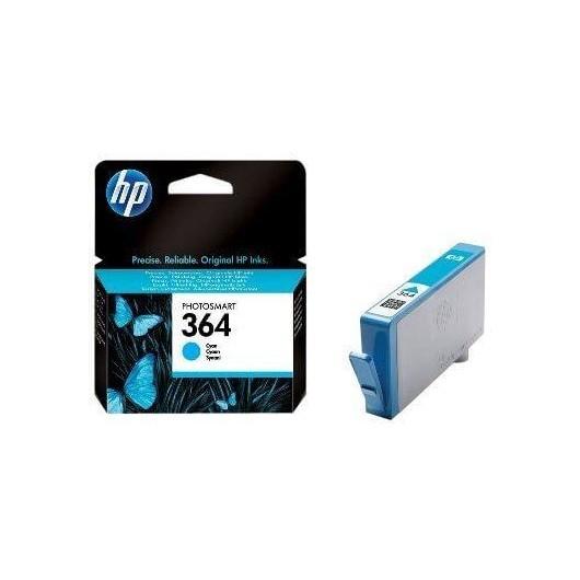 Cartouche HP 364 Cyan - CB318EE