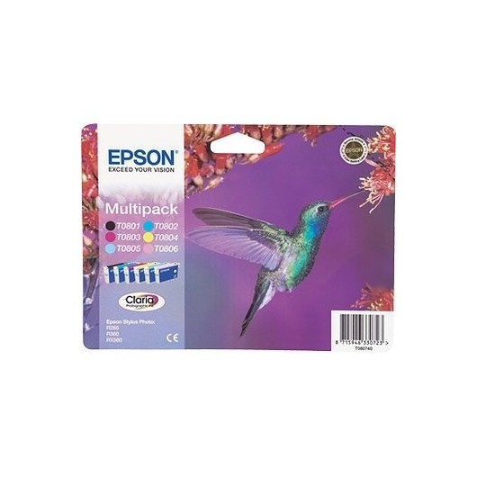 T0807 Pack Epson
