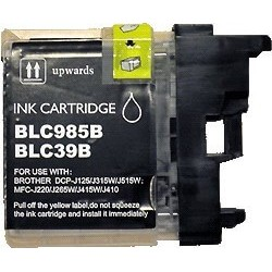 Brother LC-985BK - Noir - Cartouche Compatible Brother