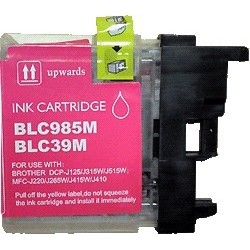 Brother LC-985M - Magenta - Cartouche Compatible Brother