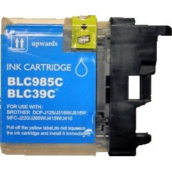 Brother LC-985C - Cyan - Cartouche Compatible Brother