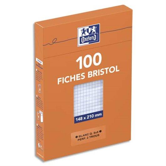 OXF B/100 BRIST PERF A5 5X5 BLC 10010487