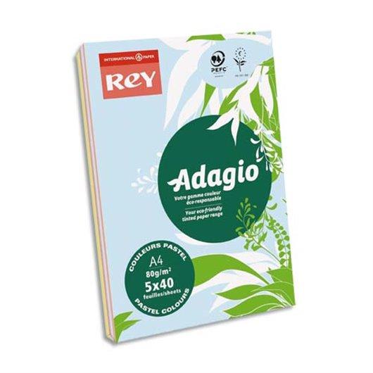 INA R/200 ADAG A4 80G PASTELVIF 8001654