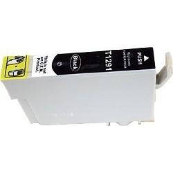 Epson T1291 - Pomme - Noir - Cartouche Compatible Epson