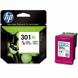 HP 301XL - HP CH564EE - Couleurs - Cartouche d'encre XL HP