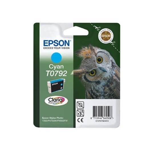 T0792 Cartouche Epson - Cyan
