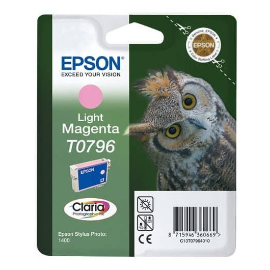 T0796 Cartouche Epson - Magenta
