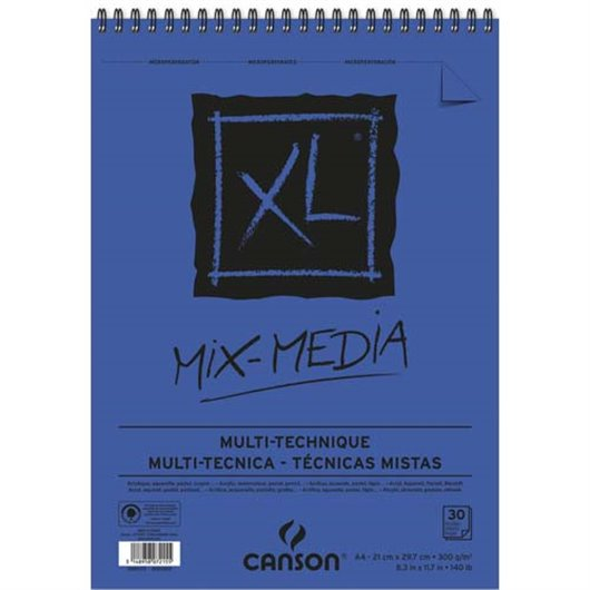 CAN CARNET MIXMED 30F A4 300G 200807215