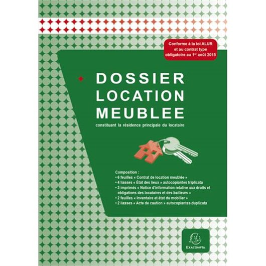 EXA DOSSIER LOCATION MEUBLEE 49E