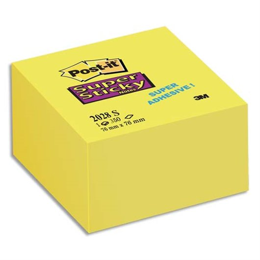 POS CUBE SUPER STICKY76X76MM 2028S 85362