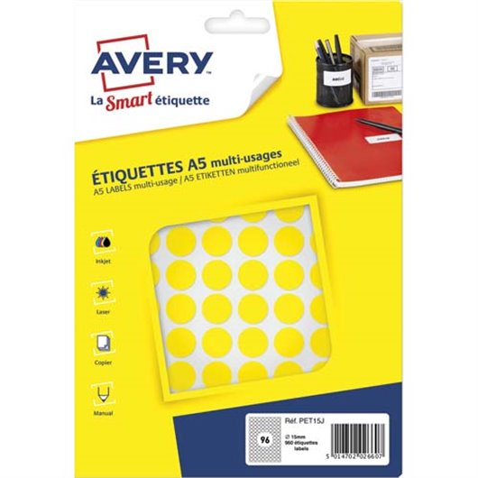 AVE S/960 PASTILLES Ø15MM J PET15J