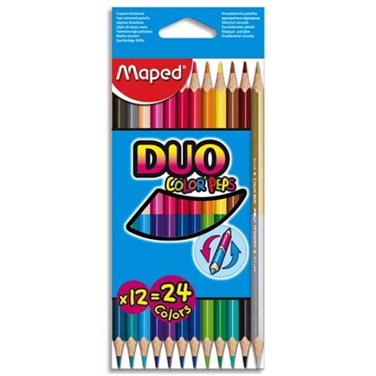 MAE P/12 CRAY COUL COLORPEP DUO 829600
