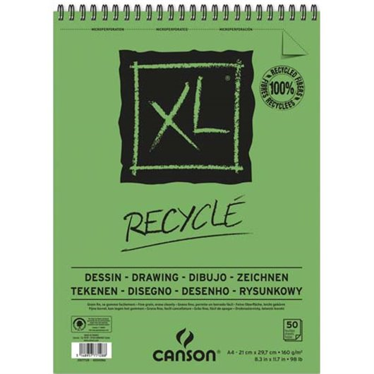 CAN ALBUM CROQUIS XL RECYCL A4 200777128