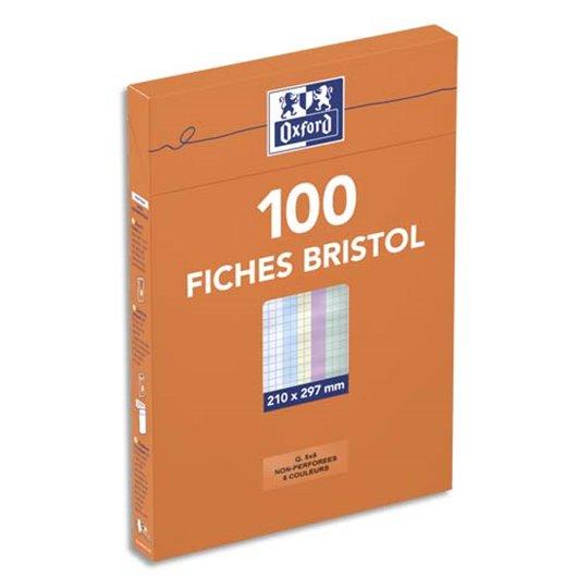 OXF B/100 BRIST NP A4 5X5 ASS 100101021