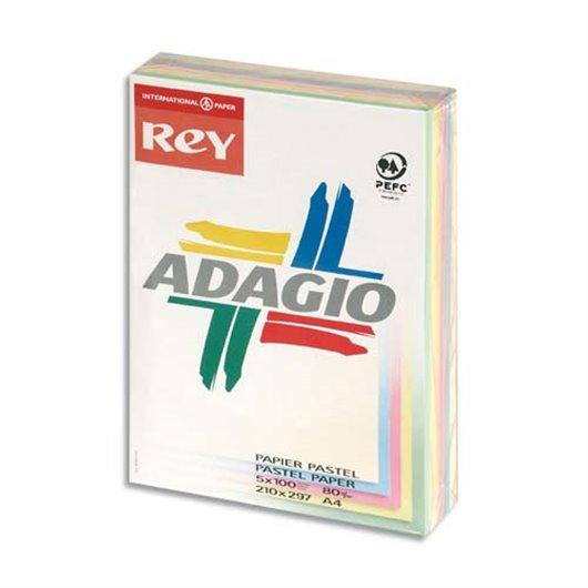 INA R/500F ADAG A4 80G PASTELVIF 8001652
