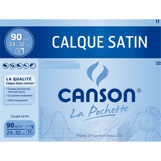 CAN POCH/12F CALQUE 70G 24X32 200003197