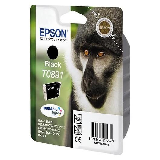 Epson T0891 -Epson  Singe - Noir - Cartouche d'encre Epson
