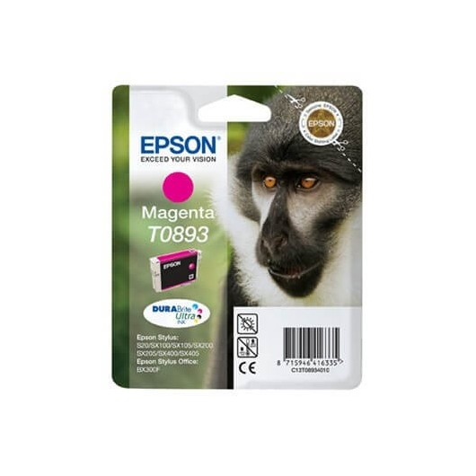 Epson T0893 -Epson  Singe - Magenta - Cartouche d'encre Epson