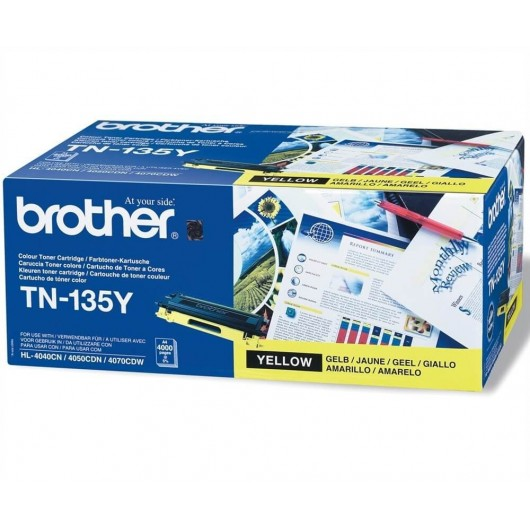 TN135Y - Jaune - Toner Brother
