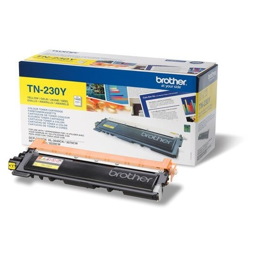 TN-230Y - Yellow - Toner Brother