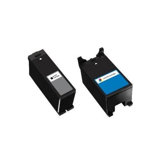 Pack 592-11329 et 592-11327 Cartouche Compatible Dell (Série 22)