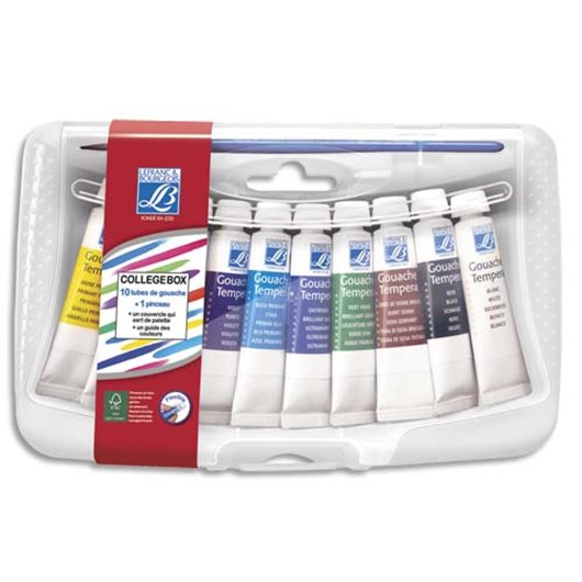 LFB COLLEGE BOX 10 TUBE GOUA 10ML 807565