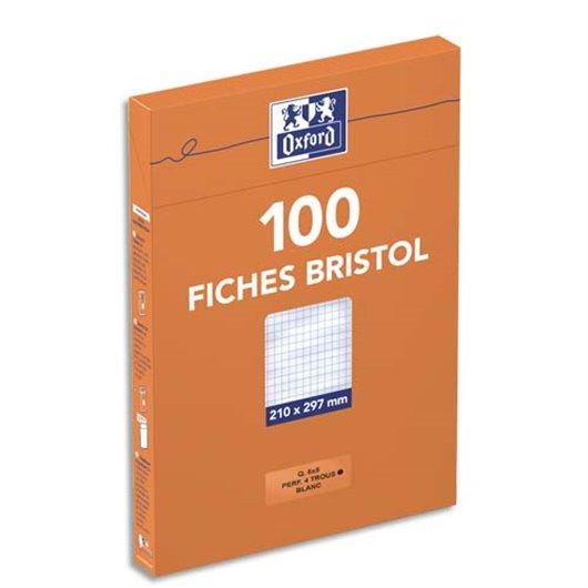 OXF B/100 BRIST PERFO A4 5X5 100105313