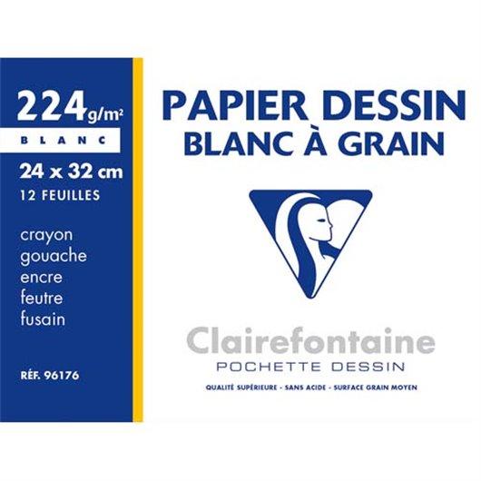 CLF P/12 FLS DESSIN 24X32 224G 96176