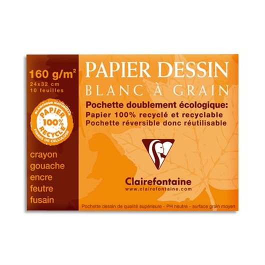 CLF P/12 FLE DESSIN 24X32 180G 96175