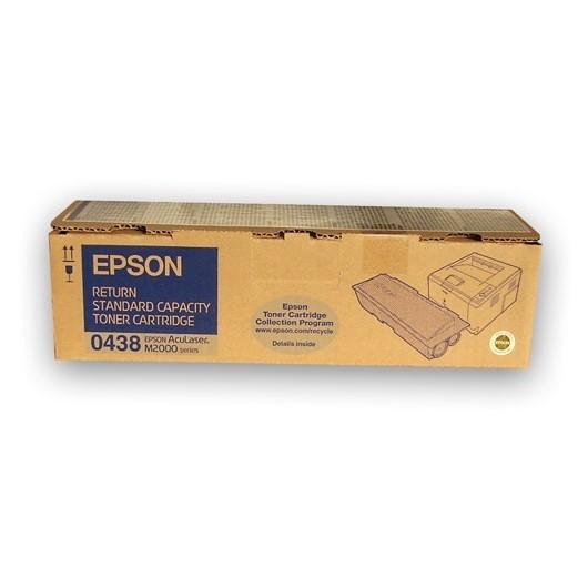 C13S050438 Noire Return Toner standard Epson