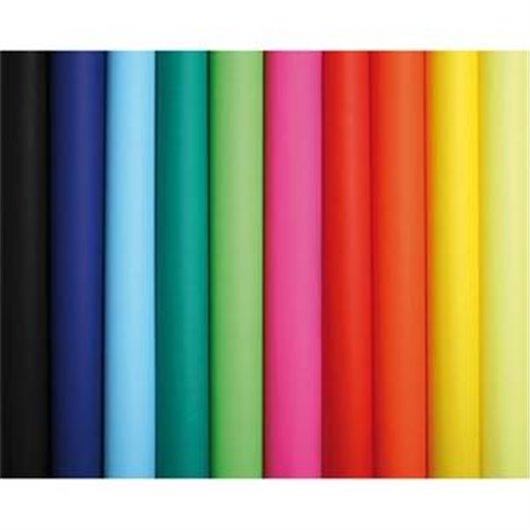 Rouleau de 10 feuilles affiche couleur 75g 60x80 cm couleurs assorties