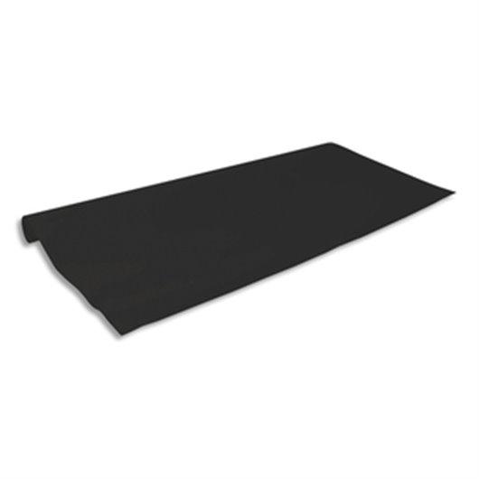 Papier Kraft coloris noir recto-verso 65g - Dimensions : 0.68 x 3 mètres